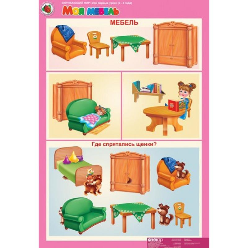Дидактическая игра мебель в картинках