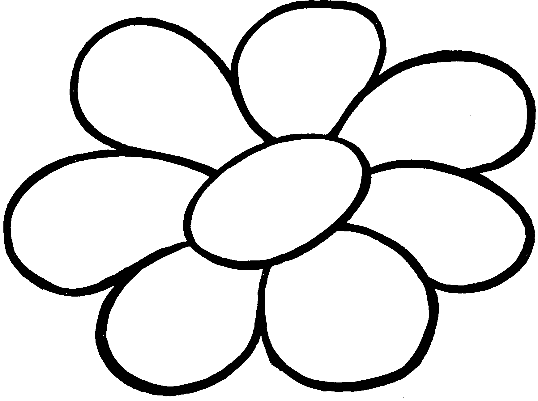 картинки цветов на белом фоне для раскрашивания назначением