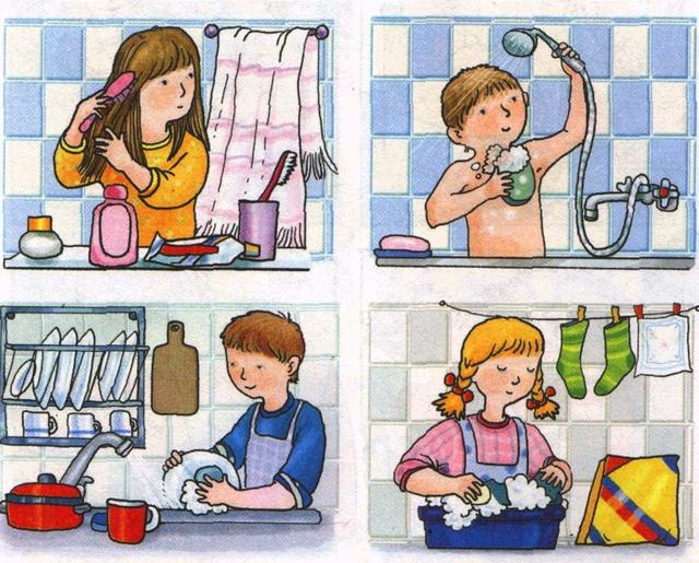 Картинка про гигиену детей