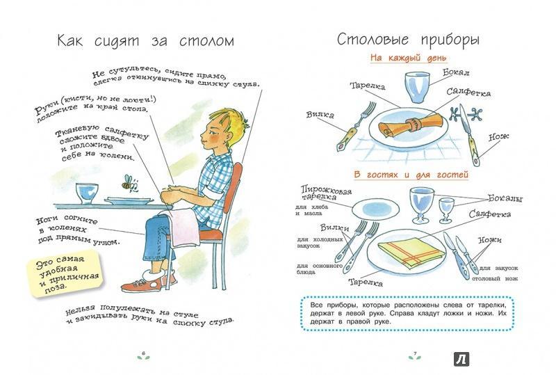 картинки неправильный этикет за столом тесто смазанный