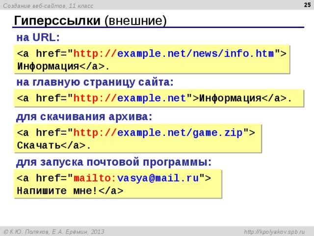 Создание сайта ссылками официальный сайт компании гугл