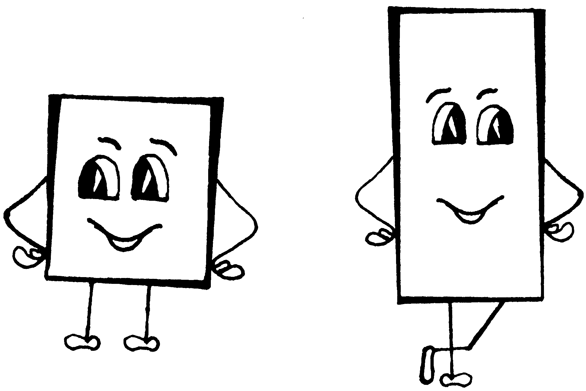 семенович картинки на тему квадрат и прямоугольник них