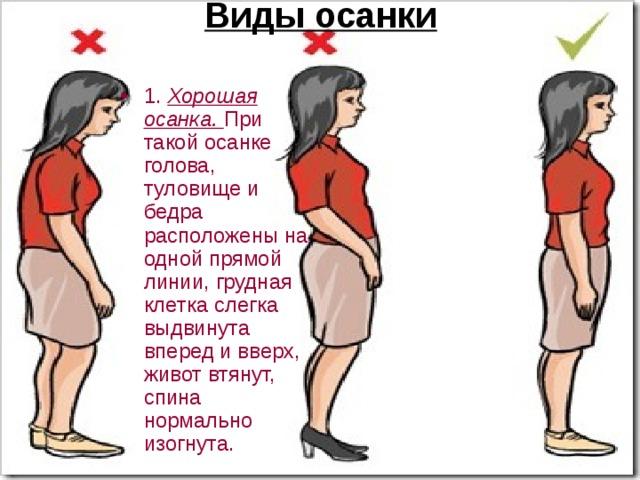 Упражнения для осанки - гимнастика для коррекции искривленного ... | 480x640