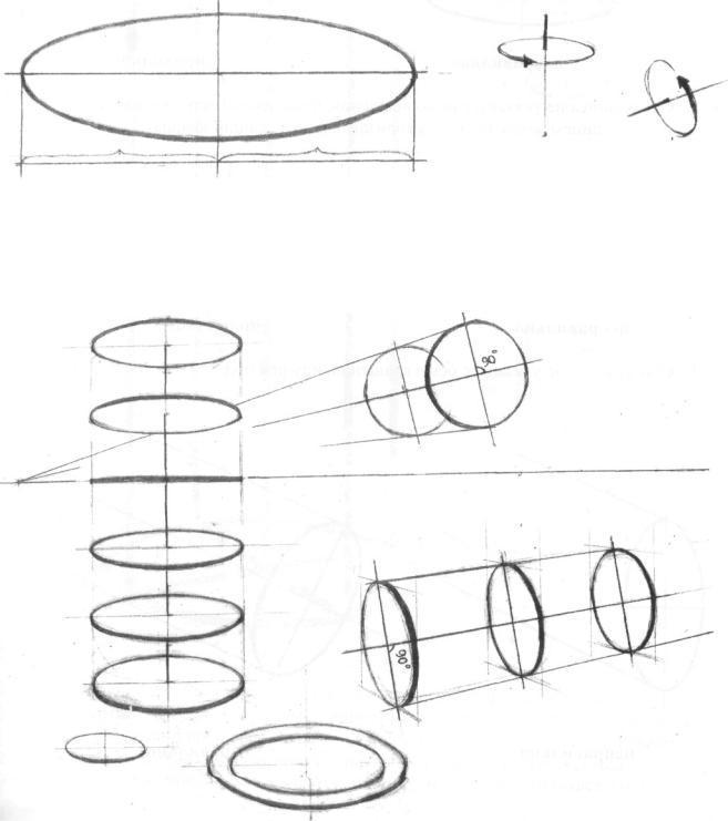 Этажерка рисунок построение карандашом