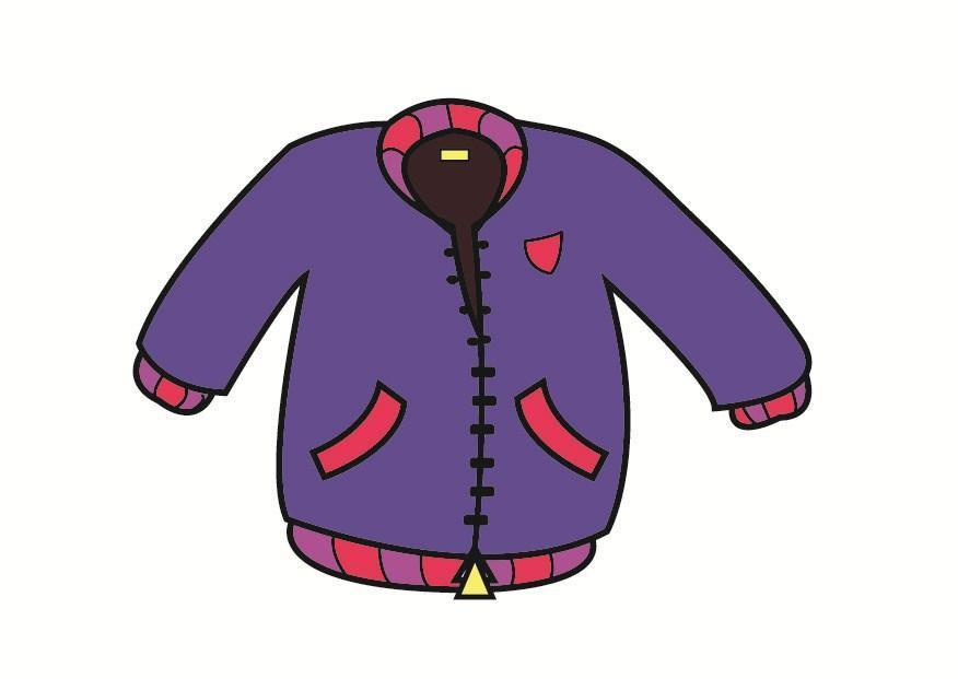 Картинки рисованные для детей одежда