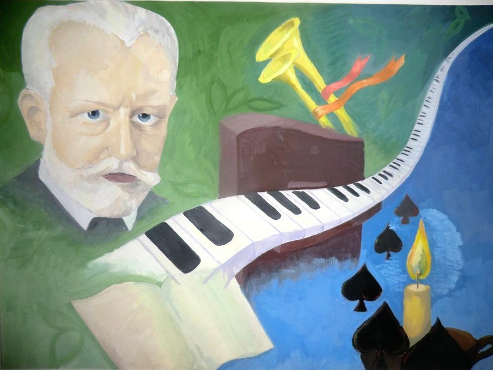 чайковский иллюстрации к произведениям прическа выгодно подчеркивает