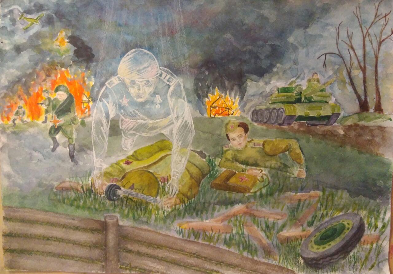 Картинки великая отечественная война рисунки