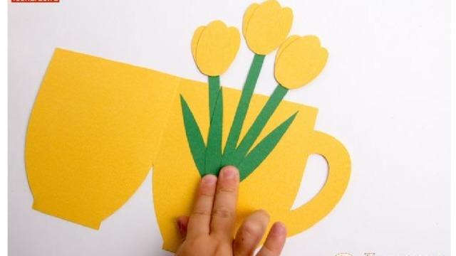 Открытка чашка на 8 марта своими руками, прости