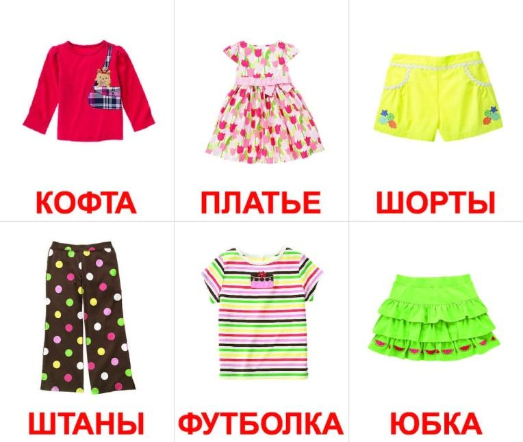 Картинки с изображением одежды
