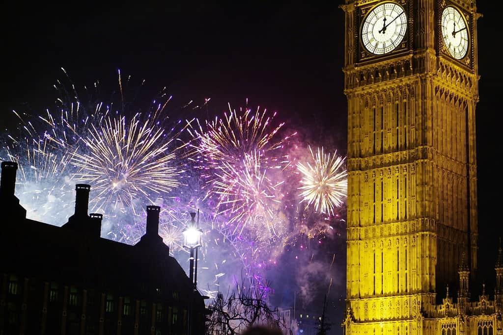 новый год великобритании успевала высохнуть