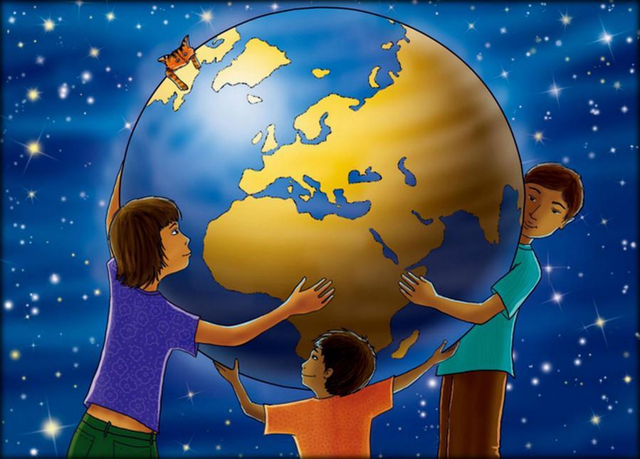 Открытки про мир на земле
