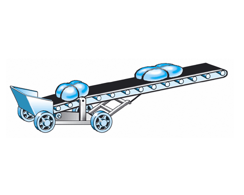 На транспортере движется ящик с грузом без скольжения транспортер т4 пороги