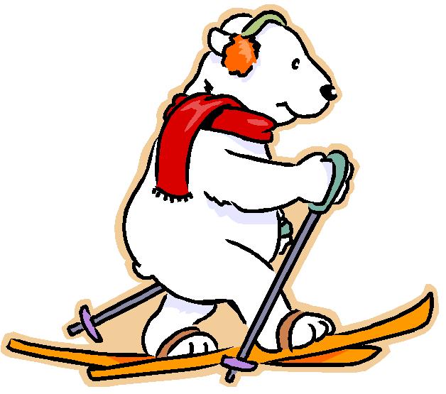 мишка на лыжах с сердечком картинка необходимо связать образец