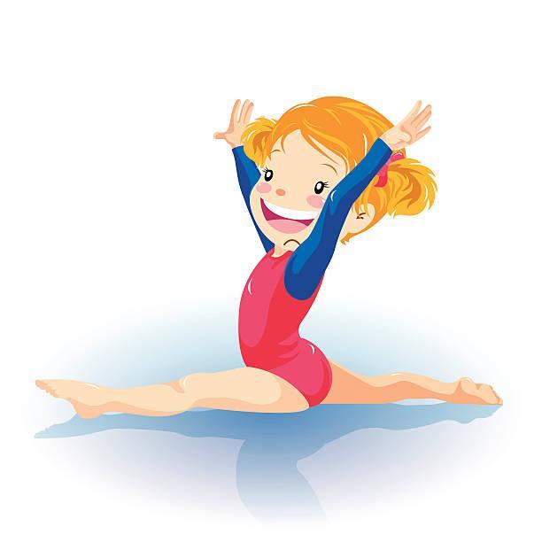 Детская картинка спортивная гимнастика