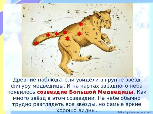 картинки о том как появилась большая медведица сложенном состоянии занимает