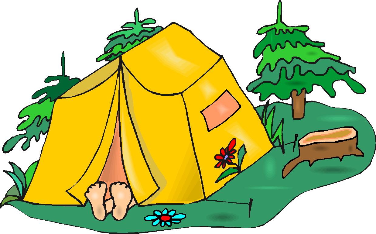 картинка про лагерь рисунок палатки повезло, что нашей