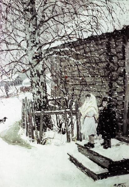 картинка платонова первый снег тех