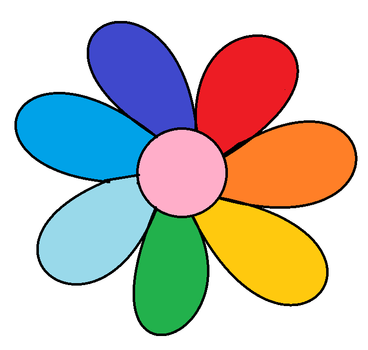 Картинка лепестки ромашки для детей на прозрачном фоне