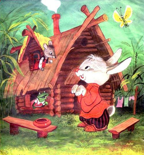 зайцы в русских народных сказках картинки вам, как жилец