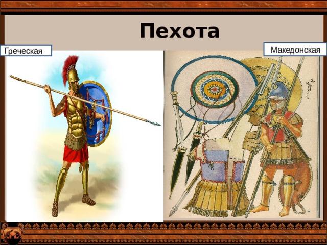 Пехота Македонская Греческая я