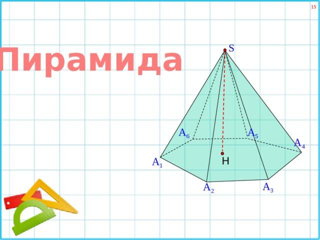Пирамида S А 6 А 5 А 4 Н А 1 А 3 А 2