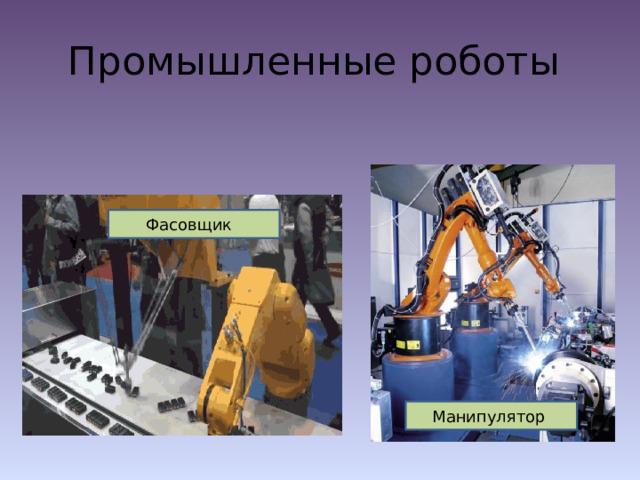 Промышленные роботы Фасовщик Манипулятор