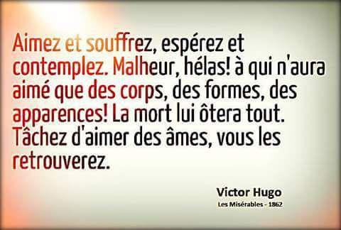 французский язык Les Citations De Victor Hugo цитаты
