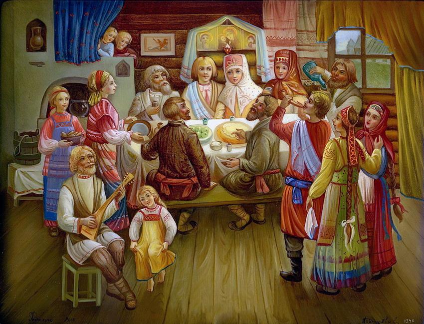 Картинки традиции руси