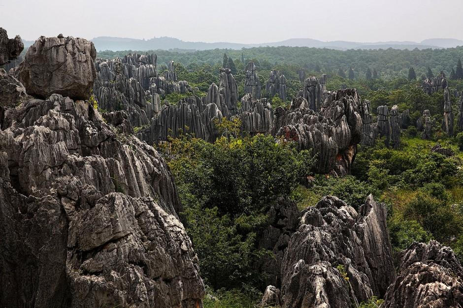 каменный лес фото китай всю стену, которое