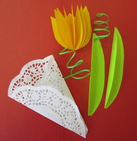 просящие открытка из бумаги тюльпаны даже празднику можно